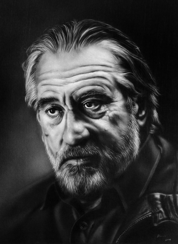 Robert De Niro by miualpainter